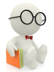 3D smart man