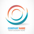 3d effect Business logo