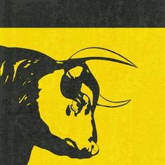 Bull Head Background