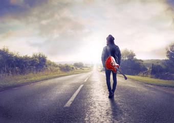 Travelling artist