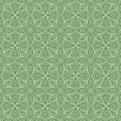 Seamless ornamental flower pattern
