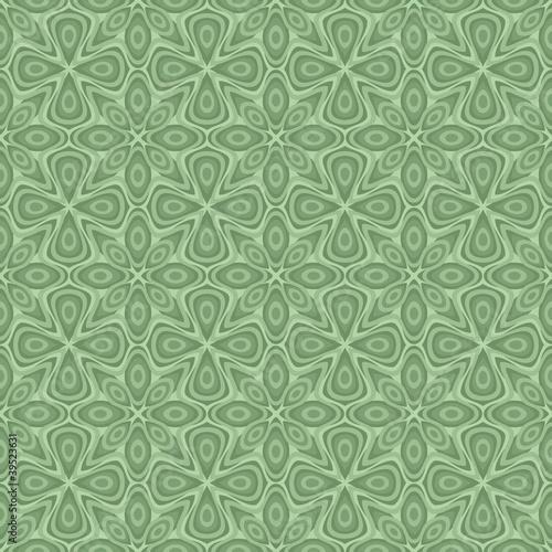 Seamless ornamental flower pattern