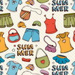 Summer clothing shopping pattern