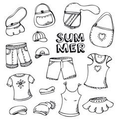 Summer fashion set