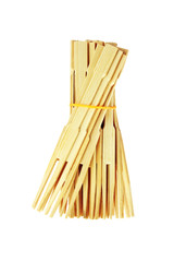 Bunch of Bamboo Food Skewers