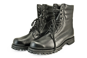 Army pair high boots