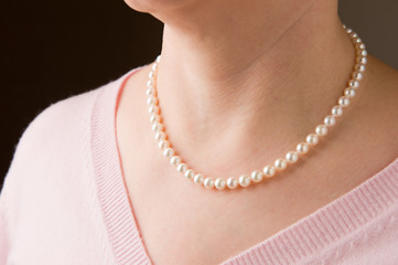 Real pearls