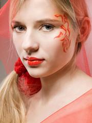 fantasy face-art