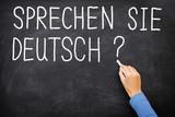 Fototapety German Learning language