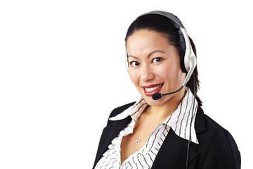 Geschäftsfrau, Business, Operator 1