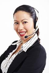 Geschäftsfrau, Business, Operator 2