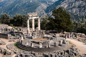 Sanctuary Of Athena Pronaia In Delphi