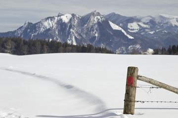 alpenidylle in oberbayern