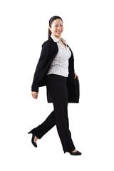 Geschäftsfrau, Business, unterwegs 3
