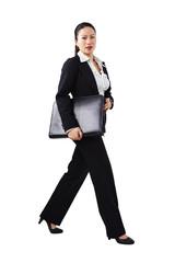 Geschäftsfrau, Business, unterwegs 4