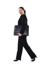 Geschäftsfrau, Business, unterwegs 5