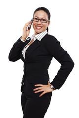 Geschäftsfrau, Business, telefonieren 3