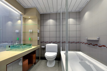 3d bathroom