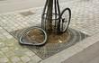 Leinwandbild Motiv vol d'un vélo