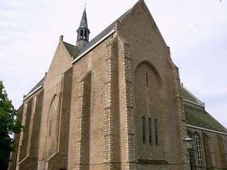 The church of Burgh-Haamstede in the Netherlands