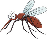 Vector Illustration Of Mosquito Cartoon - 39532626