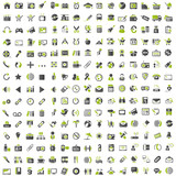 225 grey green Icons