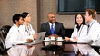 Group of Multi Ethnic Medical Executives