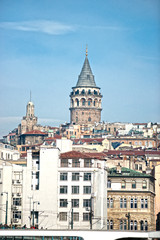 Galata tower, Turkey.