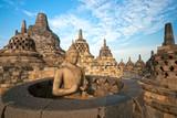 Borobudur Temple, Yogyakarta, Java, Indonesia.