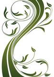 Yeşil yapraklı bitki dans ediyor poster