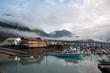 Harbor at Seward, Alaska