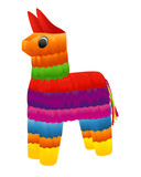 Pinata. Vector illustration on white background