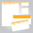 set of corporate identity design
