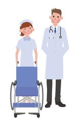 看護士と医者