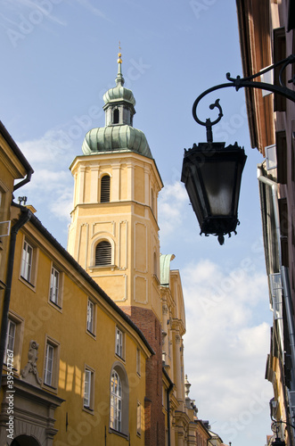 old town street in Warsaw © Alis Photo