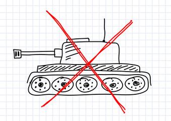Drawing of tank