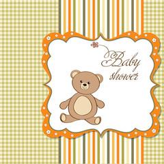 romantic baby shower card