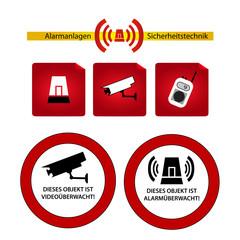 alarmanlagen und sicherheit firmen logos