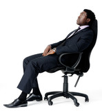 office chair businessman