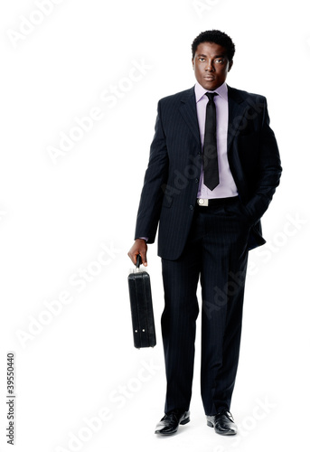 briefcase business man