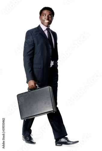 walking briefcase man
