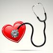 Stethescope on Heart
