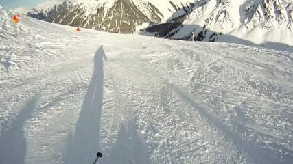 alpin skiing