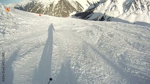 alpin skiing
