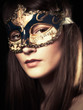 The Mask. Female Portrait
