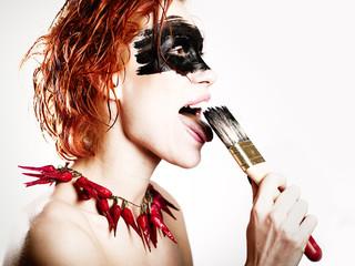 Hot Stuff! Female portrait