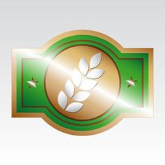 Agro stamp green