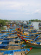 Vietnam, Phan Thiet fishing harbor