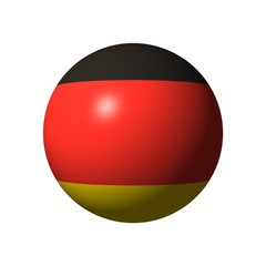 ball from germany flag