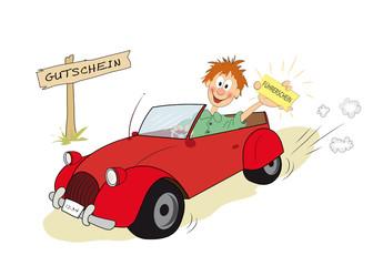 Gutschein für den Führerschein